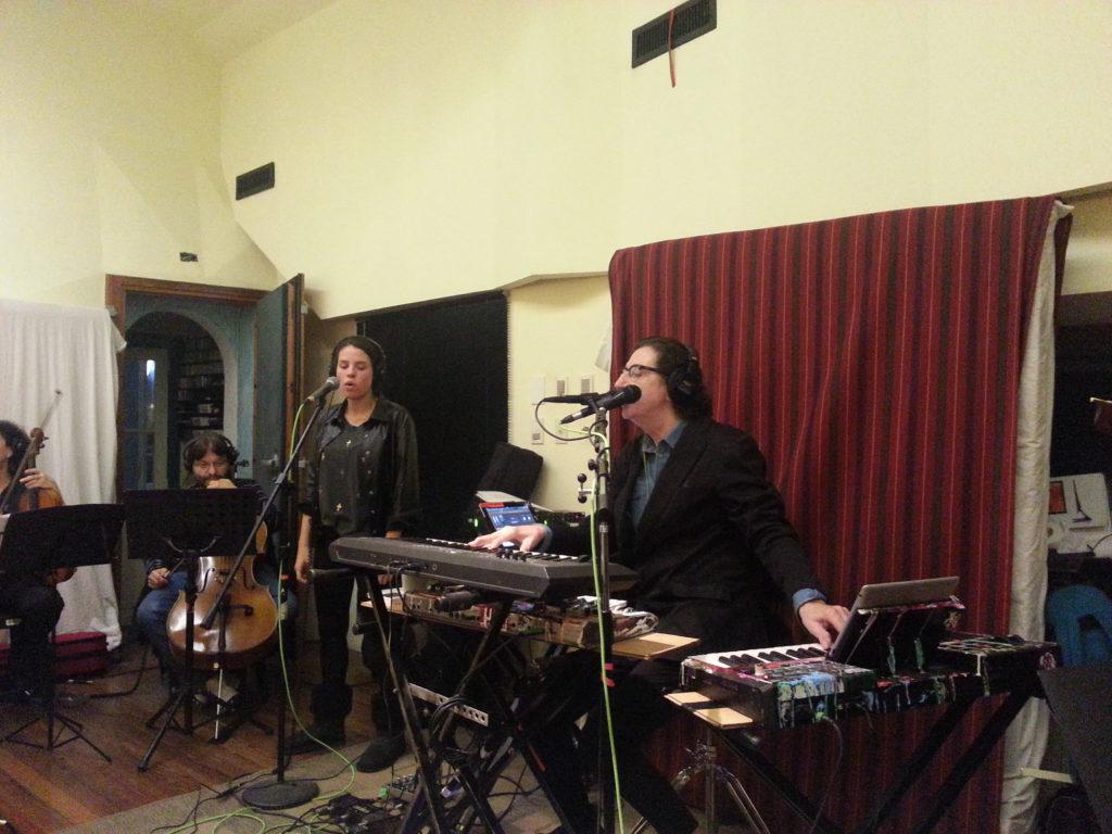 KASHMIR Orquesta en ensayo con CHARLY GARCÍA